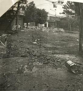 Estado acual de la Obra Inconclusa en Marcos Avellaneda y Murguiondo, Barrio Villa Giardino, Lanús Este.