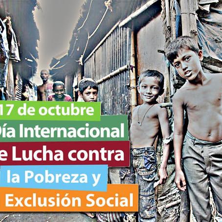 17 de octubre, Día Internacional para la Erradicación de la Pobreza