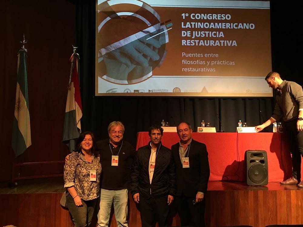 """Alejandro Gorrini, ha participado del """"1° Congreso Latinoamericano de Justicia Restaurativa"""""""