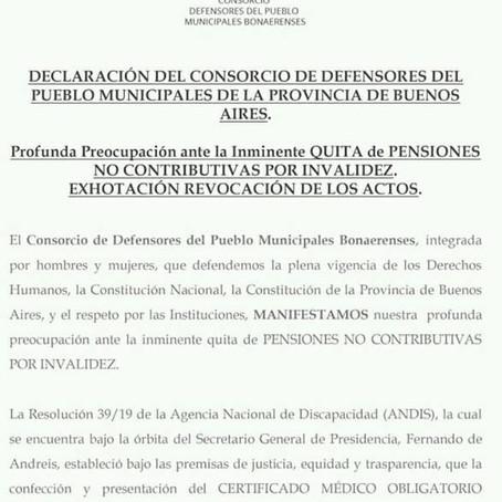 Atención vecinos de Lanús, información importante sobre las Pensiones No Contributivas por Invalidez
