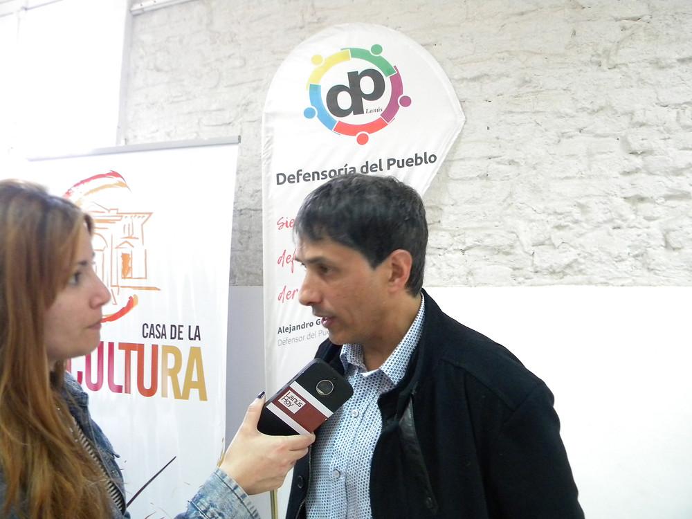 """""""Las pruebas no dieron resultados positivos y lo vemos con preocupación"""", declaró el Defensor del Pueblo de Lanús, Alejandro Gorrini"""