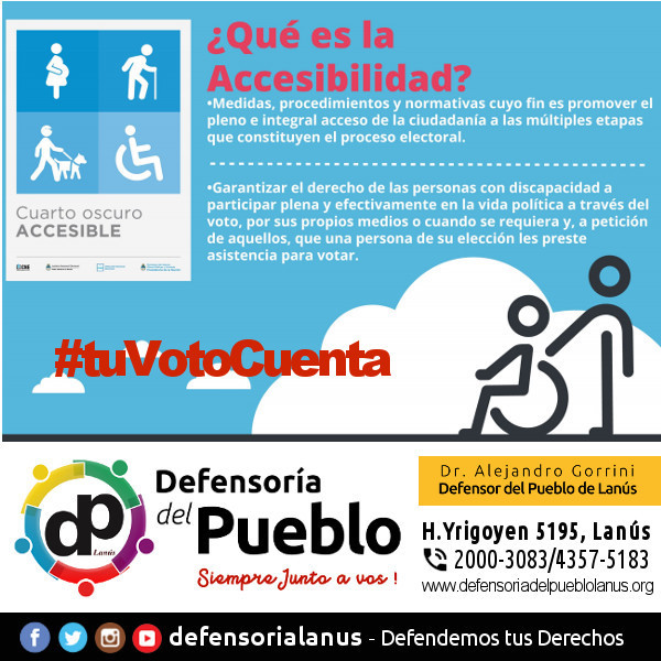 Que es la Accesibilidad Electoral?