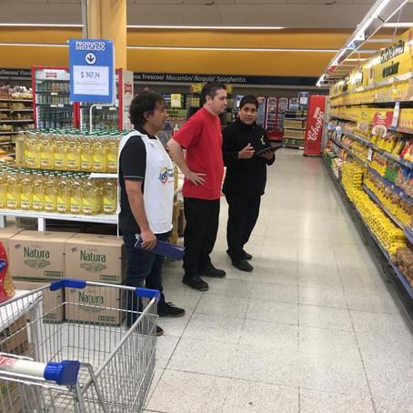 La Defensoría del Pueblo realiza control de precios y abastecimiento en los comercios del municipio