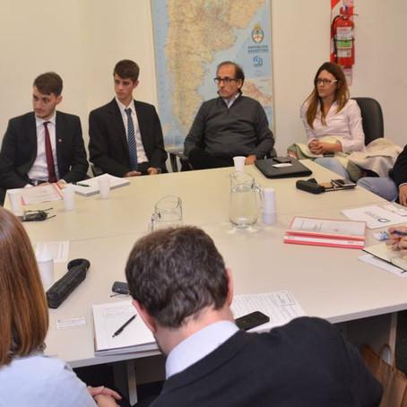 El Dr.Alejandro Gorrini participó de una audiencia en el Ministerio de Transporte de la Nación