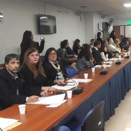Alejandro Gorrini participó de la jornada de trabajo sobre problemáticas de Pacientes con AME