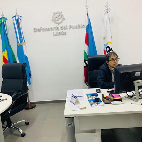 Charla del Defensor del Pueblo con alumnos de 4°Grado
