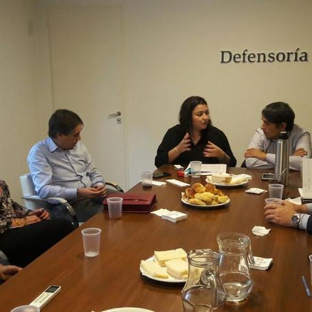 Reunión del Consorcio de Defensores Municipales Bonaerenses con Guido Lorenzino