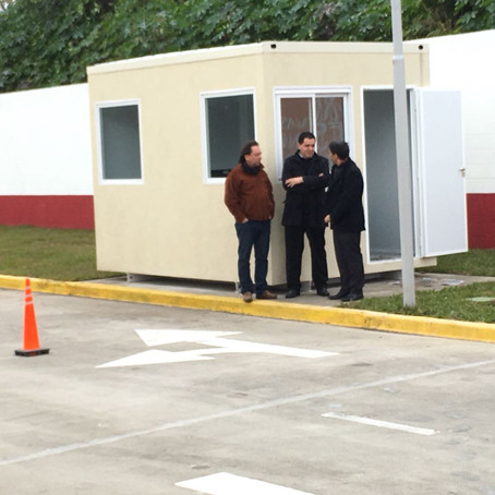 El Defensor del Pueblo y el Defensor del Pueblo Adjunto visitaron el Centro Regional de Licencias
