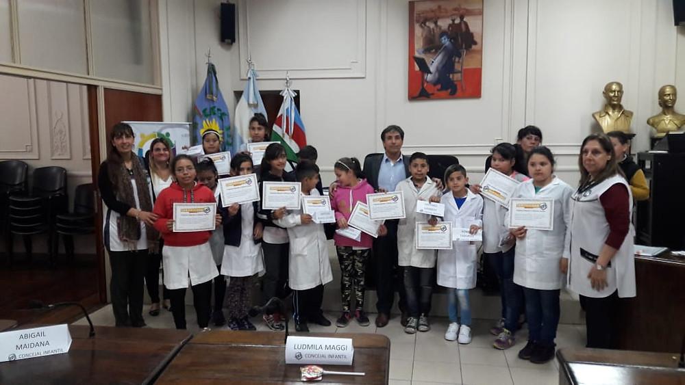 Cierre del Programa Eligiendo al Defensor Infantil en el HCD Lanús