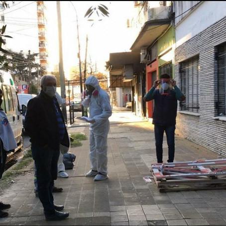 La Defensoría del Pueblo de Lanús intervino ante denuncias recibidas sobre un Geriátrico de la zona.