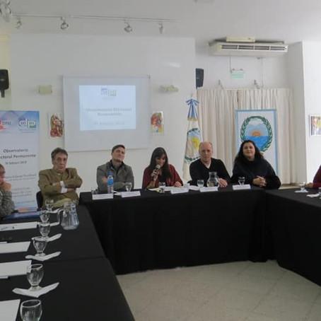 "Gorrini participó de la ""Jornada Preparatoria del Observatorio Electoral 2019"""