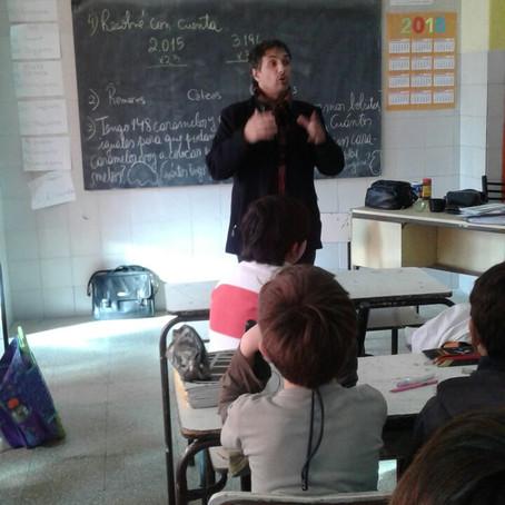 """Lanzamos el programa """"Eligiendo al Defensor Infantil"""" para niños de 5°gdo en  escuelas del municipio"""