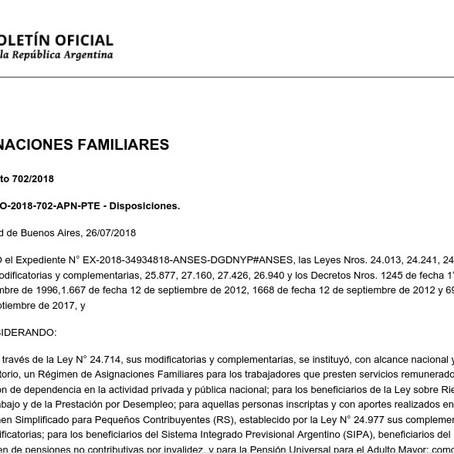Rechazamos enérgicamente el Decreto que elimina asignaciones familiares a los mas vulnerables