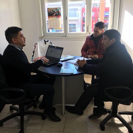 El Defensor del Pueblo, recibió al Ejec.Regional de Defensa del Consumidor de Telefónica Argentina