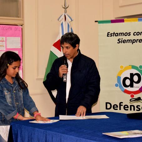 """""""Eligiendo al Defensor Infantil"""": Se realizaron los cierres del programa en tres escuelas"""