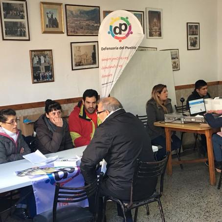 """Participamos en la Campaña """"El Municipio en tu Barrio"""" en el Club Atenas de Villa Diamante"""