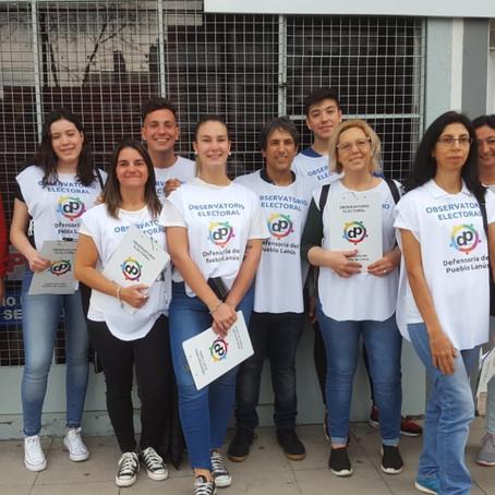 Resultados del Primer Observatorio Electoral realizado por la Defensoría del Pueblo Lanús