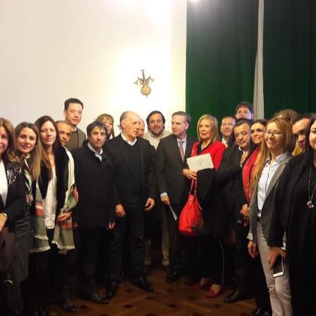 Los Defensores y Defensoras del Pueblo se reunieron ayer con legisladores nacionales