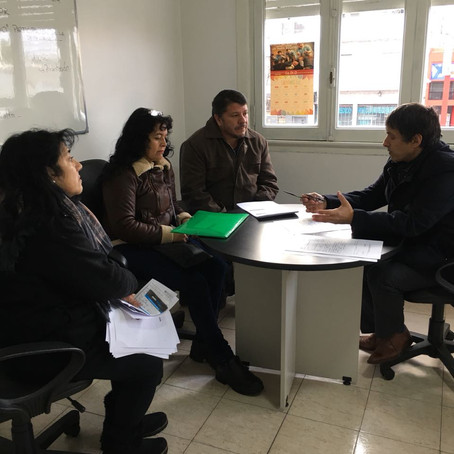 El Defensor del Pueblo de Lanús recibió a un grupo de padres por el caso de Snow Travel