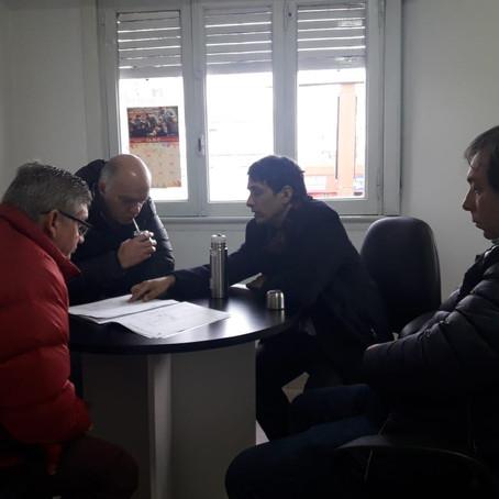 Hoy recibimos la visita del Señor Intendente y del Secretario de Desarrollo Urbano de Lanús.