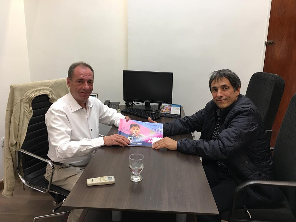El Dr. Alejandro Gorrini entregó el Informe Anual al presidente del Honorable Concejo Deliberante