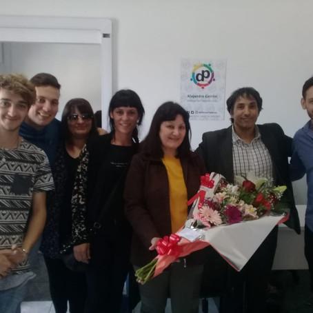 Felicitamos a los integrantes de nuestro equipo homenajeados por su servicio en el Municipio