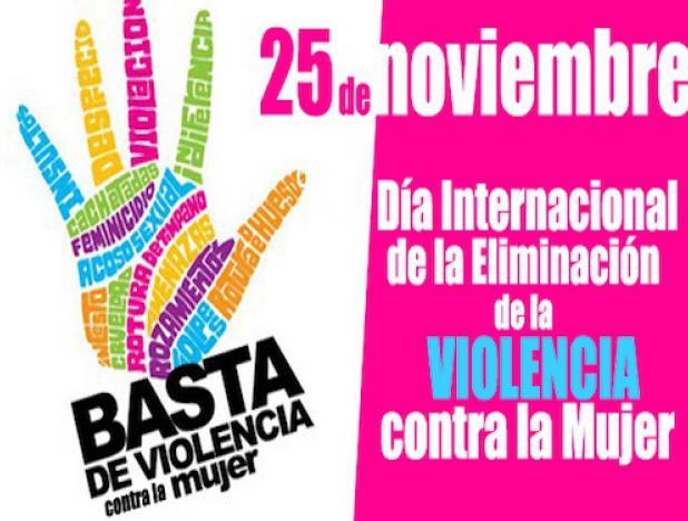 25 de Noviembre, Dia Contra la violencia de genero #niUnaMenos