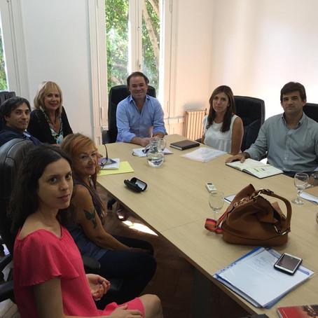 Gorrini se reunió con la Agencia Nacional de Discapacidad