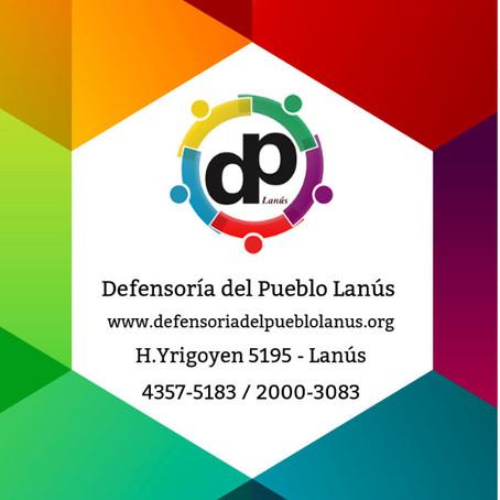 Acercate a la Defensoría del Pueblo de Lanús. Queremos Ayudarte!
