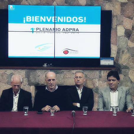 Gorrini participa del Primer Plenario Anual de ADPRA de 2019 celebrado en Carlos Paz