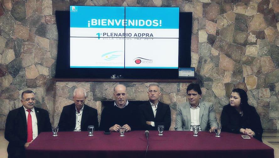 Primer Plenario Anual de ADPRA de 2019 celebrado en Carlos Paz , Córdoba