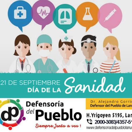 21 de septiembre, celebramos a los trabajadores de la Salud, en el Día de la Sanidad