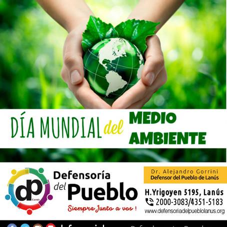 5 de Junio es el Día Mundial del Medio Ambiente, un buen momento para festejar y tomar conciencia.