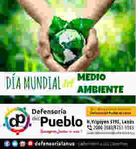 5 de junio, se celebra el Día Mundial del Medioambiente, una forma de alertar sobre el peligro que acecha al planeta y una manera de festejar su riqueza