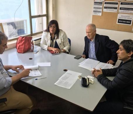 Alejandro Gorrini participó de la reunión con la Secretaría de Deportes de la Nación