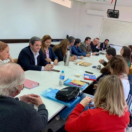Gorrini se encuentra participando en el Conversatorio con Organizaciones de la Sociedad Civil