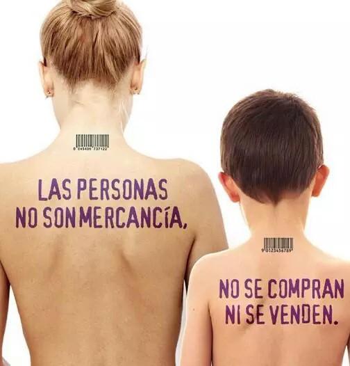 Sin clientes no hay trata #noTrates - Dia internacional contra la explotación sexual y la trata de personas