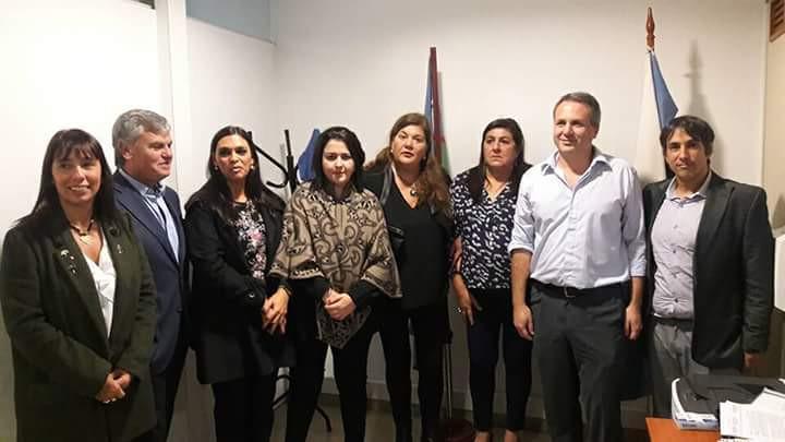 El Defensor del Pueblo de Lanús y otros Defensores Bonaerenses se reunieron con Nicolás Ginóbilli
