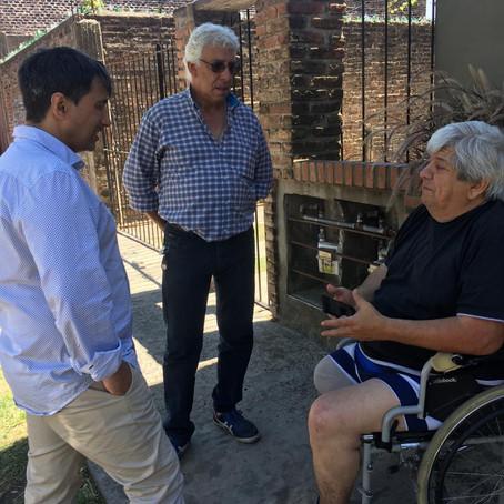 El Defensor del Pueblo se reunió con un grupo de vecinos en Remedios de Escalada