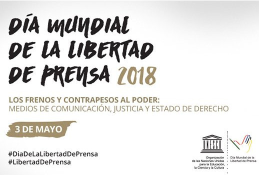 Día Mundial de la Libertad de Prensa.