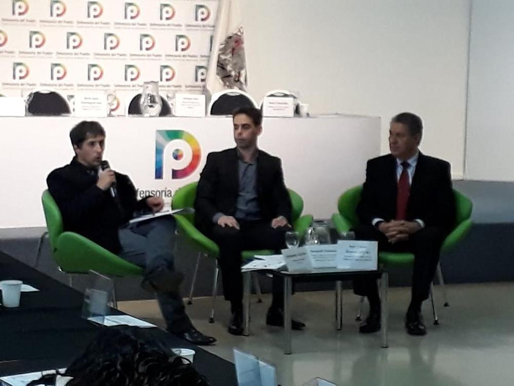 El Defensor del Pueblo de Lanús, Alejandro Gorrini, participó del Primer Encuentro Binacional de Comisiones de Derechos Humanos de México y Defensorías del Pueblo de Argentina