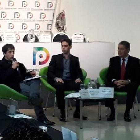 Gorrini, participó del Primer Encuentro Binacional con Comisiones de Derechos Humanos de México