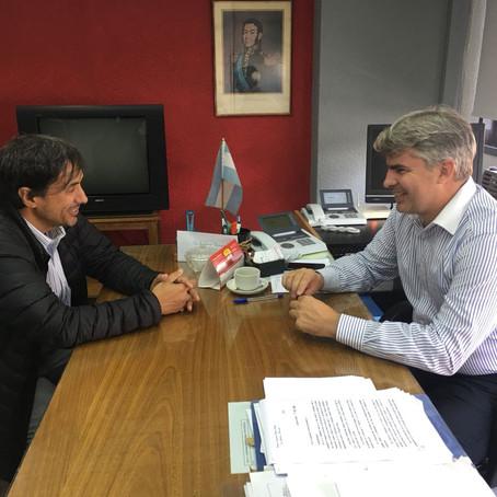 El Defensor del Pueblo se reunió hoy con el Director de la UGL Regional del PAMI