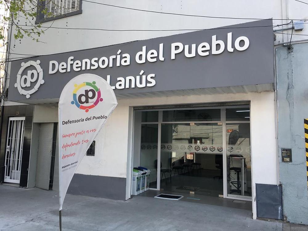 El Dr.Alejandro Gorrini, primer Defensor del Pueblo de Lanús impulsó este proyecto hace casi cuatro años atras y hoy es una REALIDAD para todos los vecinos del municipio