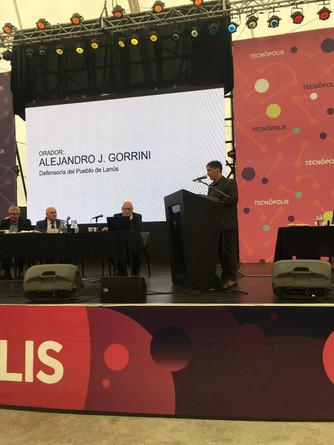 Alejandro Gorrini en La Audiencia Pública por el Agua
