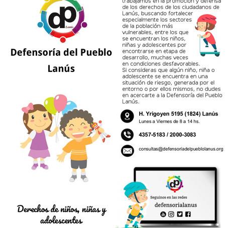 Defensoría del Pueblo Lanús | DERECHOS DE NIÑOS, NIÑAS Y ADOLESCENTES