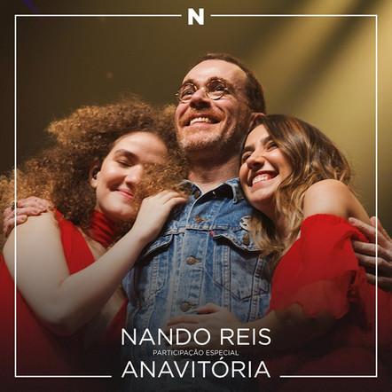 Nando Reis & Anavitória -  N Ao Vivo - Mixing