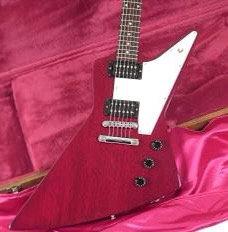 Gibson Explorer Cherry (used) OHSC