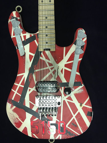 EVH 5150 Striped Series guitar, with real look Modifications