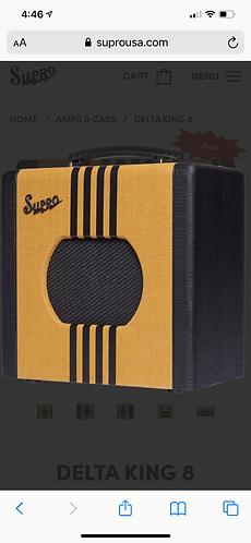 Supro Delta King 8, 1X8   1-WATT Amp